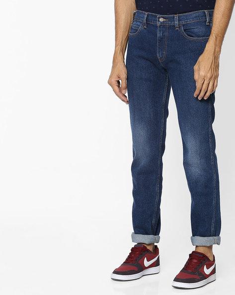 511 Mid-Rise Slim Fit Jeans By LEVIS ( Blue ) - 460098416005