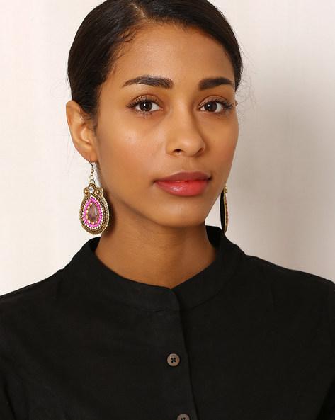 Beaded Drop-Earrings By Indie Picks ( Multi ) - 460042576001