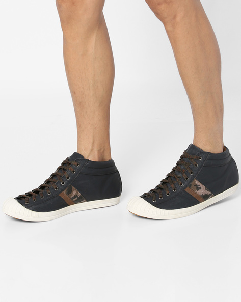 Lace-Up Casual Shoes By Knotty Derby ( Navy )