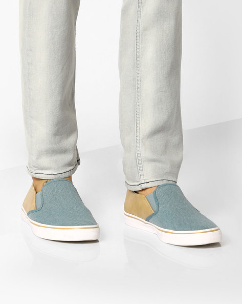 Colourblock Casual Canvas Shoes By UNITED COLORS OF BENETTON ( Blue )