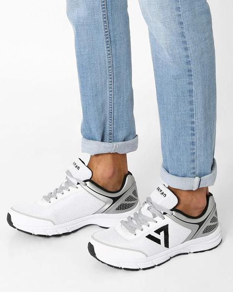 Trident Shorts Shoes With PU Upper By SEVEN ( White )