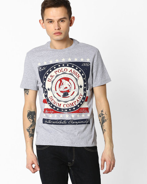 Graphic Print T-shirt By US POLO ( Assorted ) - 440760198001