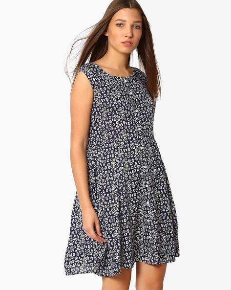 Floral Print Skater Dress By ANONYMOUS CO ( Brtmulti )