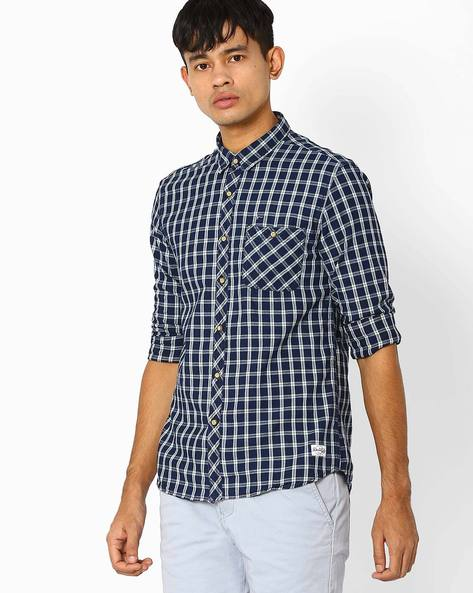 Checked Slim Fit Casual Shirt By FLYING MACHINE ( Assorted )