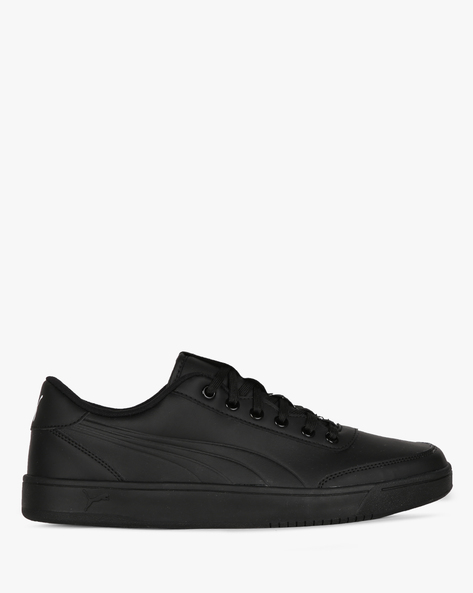 Court Breaker Bold Casual Shoes By Puma ( Black )