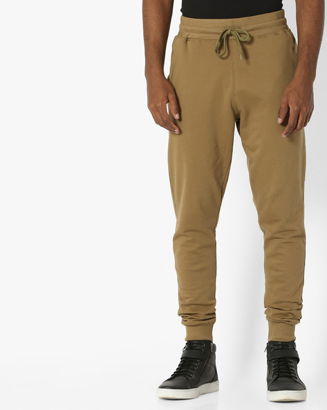 Joggers With Elasticated Waist By Garcon ( Olive )