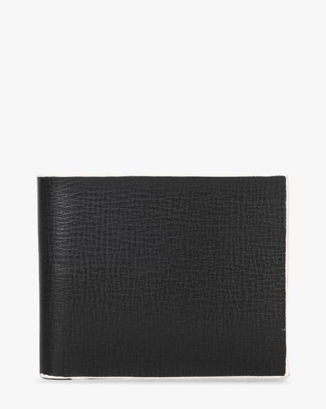 Leather Bi-Fold Wallet By TEAKWOOD LEATHERS ( Brown ) - 460173788001