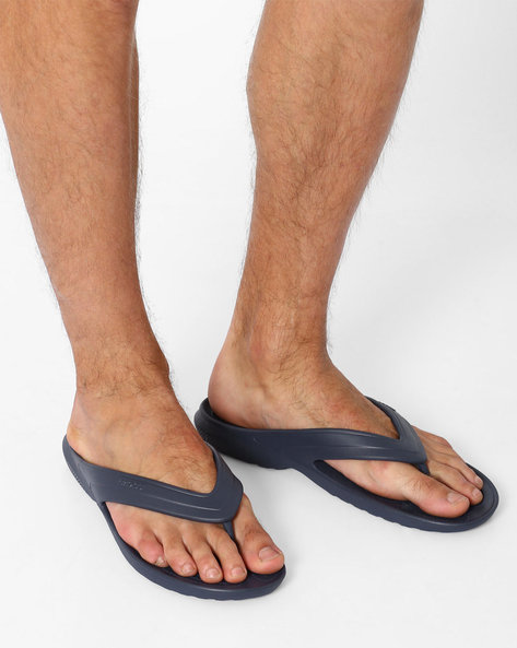 Classic Flip Thong-Style Flip-Flops By CROCS ( Navy )