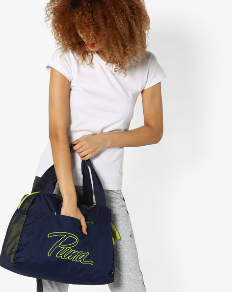 Core Grip Gym Bag By Puma ( Navy )