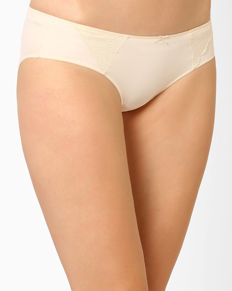 Seamless Hipster Panties By Amante ( Cream )