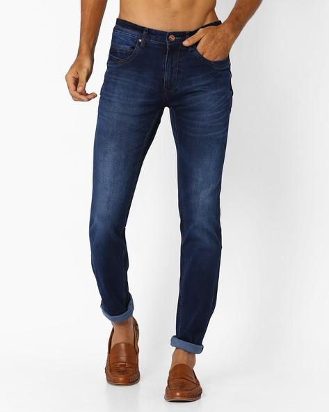 Lucifer Slim Fit Jeans By SIN ( Indigo ) - 460027240004