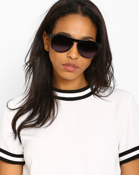Wayfarer Sunglasses By Joe Black ( Black ) - 460019510001