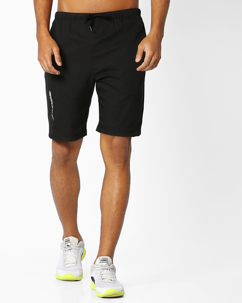 GoDry Shorts With Elasticated Waist By 2Go ( Black )