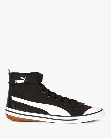 917 FUN IDP Mid-Top Casual Shoes By Puma ( Black )
