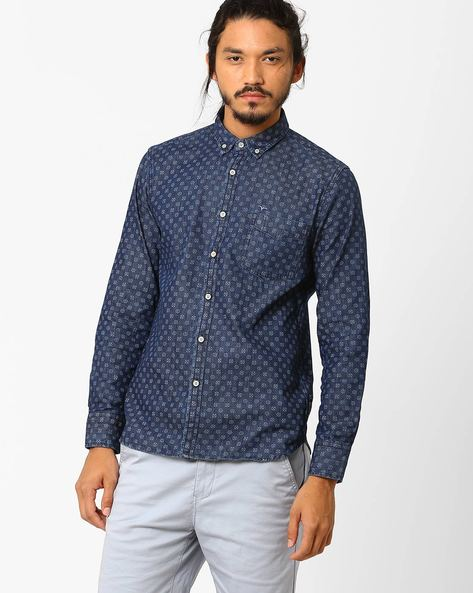 Printed Slim Fit Shirt By FLYING MACHINE ( Assorted ) - 440720201002