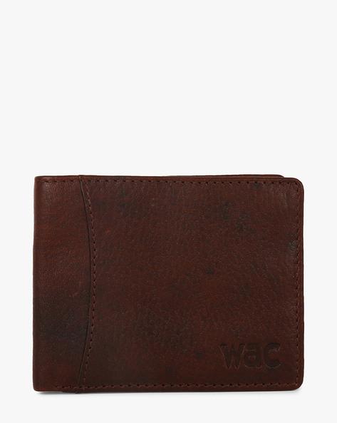 Leather Bi-Fold Wallet By WRANGLER ( Tan )