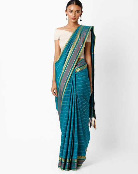 Mysore Art Silk Saree By Amori ( Green )