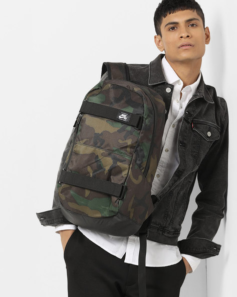 SB Courthouse Skateboarding Backpack By NIKE ( Brown )