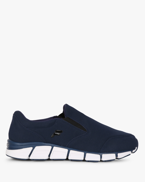 Slip-On Shoes With Elasticated Gussets By FILA ( Blue )