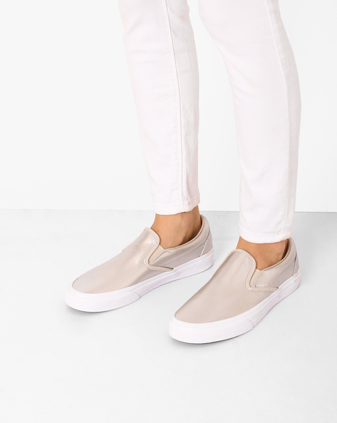 Classic Slip-Ons With Elasticated Gussets By Vans ( Grey )