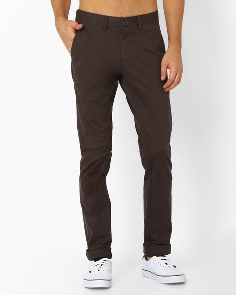 Bedford Cord Chinos By NETPLAY ( Olive )