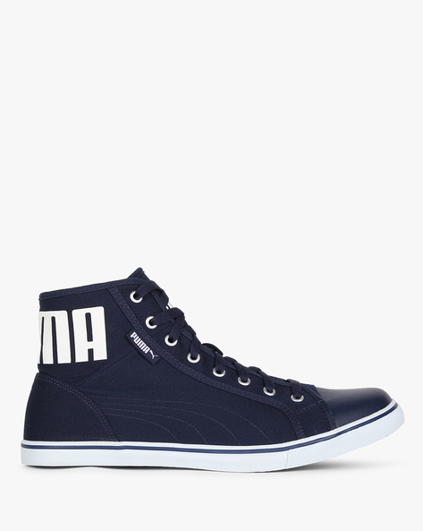 Puma Streetballer Mid IDP Casual Shoes By Puma ( Navyblue )