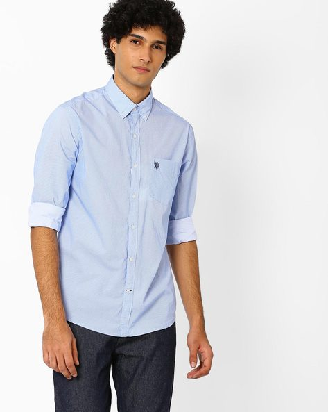 Regular Fit Printed Shirt By US POLO ( Assorted )