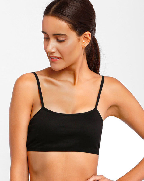 Full-Coverage Sports Bra By Floret ( Black ) - 460047001001