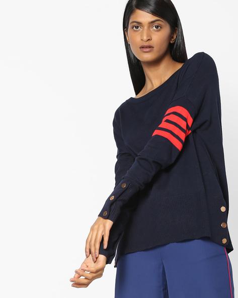 Top With Drop-Shoulder Sleeves By Vero Moda ( Black )