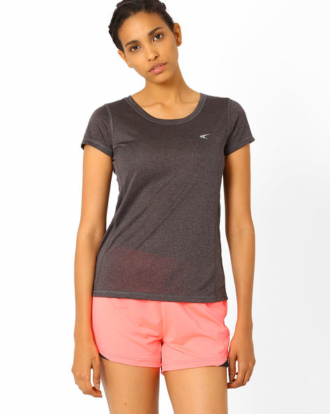 T-shirt With Short Sleeves By PERFORMAX ( Charcoal )