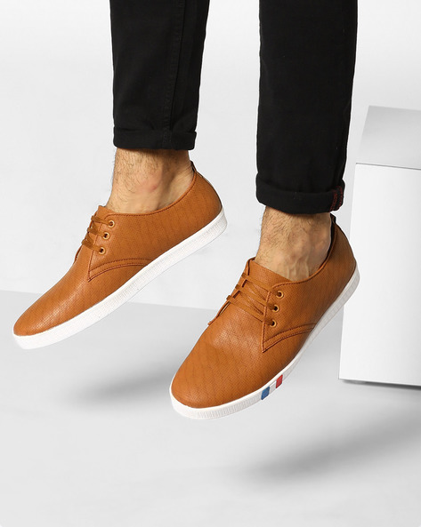 Sneakers With Perforations By Modello Domani ( Beige )