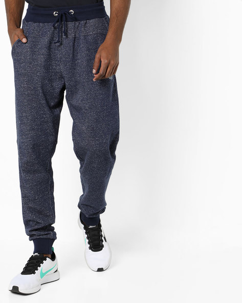 Jogger Pants With Cuffed Hems By FLYING MACHINE ( Indigo )