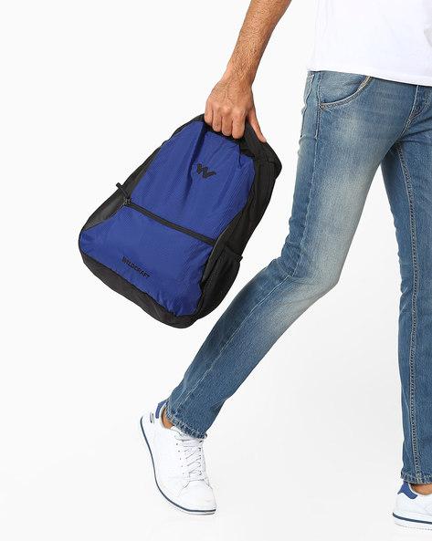 Geek Panelled Backpack By Wildcraft ( Blue )