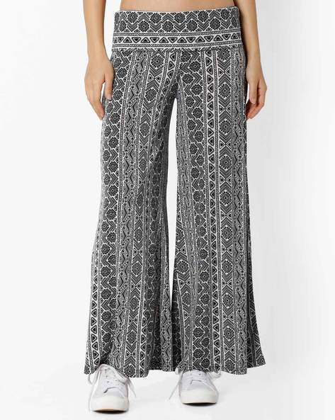 Printed Palazzo Pants By And ( Multi )
