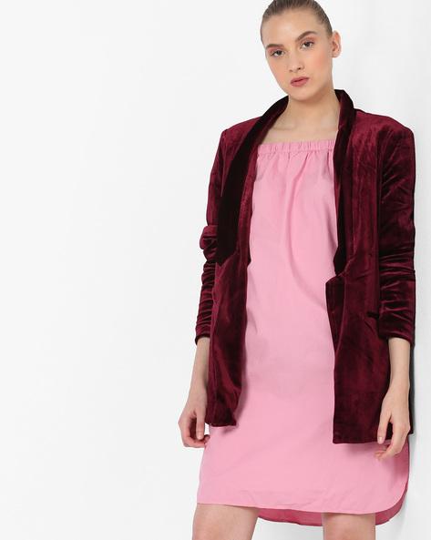 Jacket With Shawl Lapel By Vero Moda ( Brwnpink )