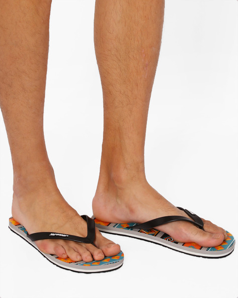 Thong-Style Native Flip-Flops By Sole Threads ( Orange )