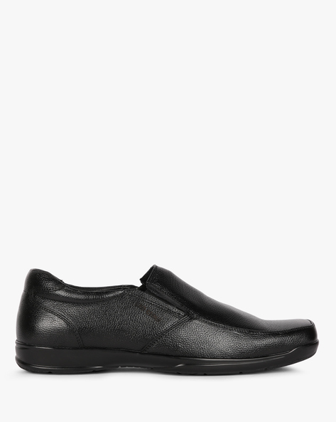 Textured Casual Slip-On Shoes By RED CHIEF ( Black )