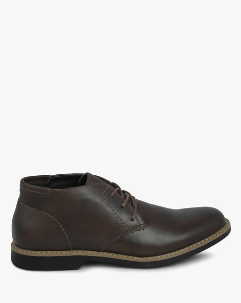 Lace-Up Chukka Boots By DEXTER MEN ( Brown )