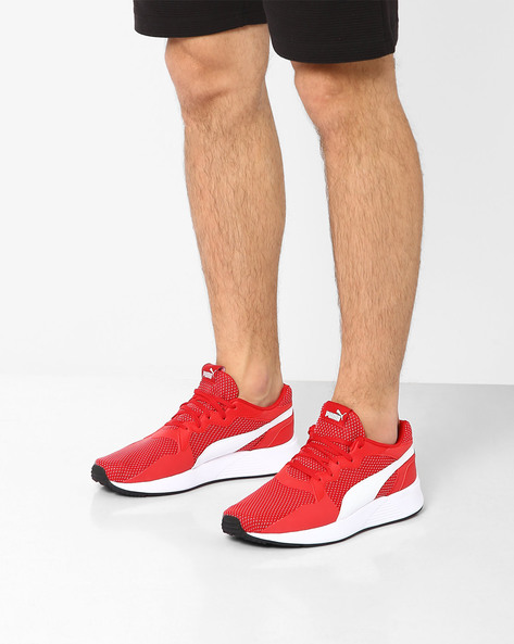 Pacer Plus Sneakers By Puma ( Red )