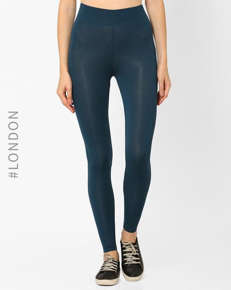 StayNEW High-Rise Leggings By Marks & Spencer ( Turquoise )