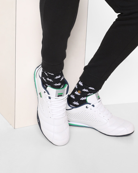 Donal Lace-Up Casual Shoes By FILA ( White )