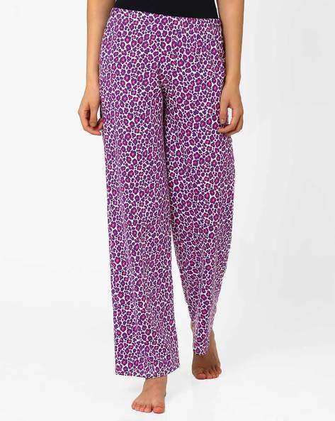 Printed Pyjamas By PrettySecrets ( Purple )